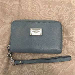 Michael Kors wallet with wrist strap